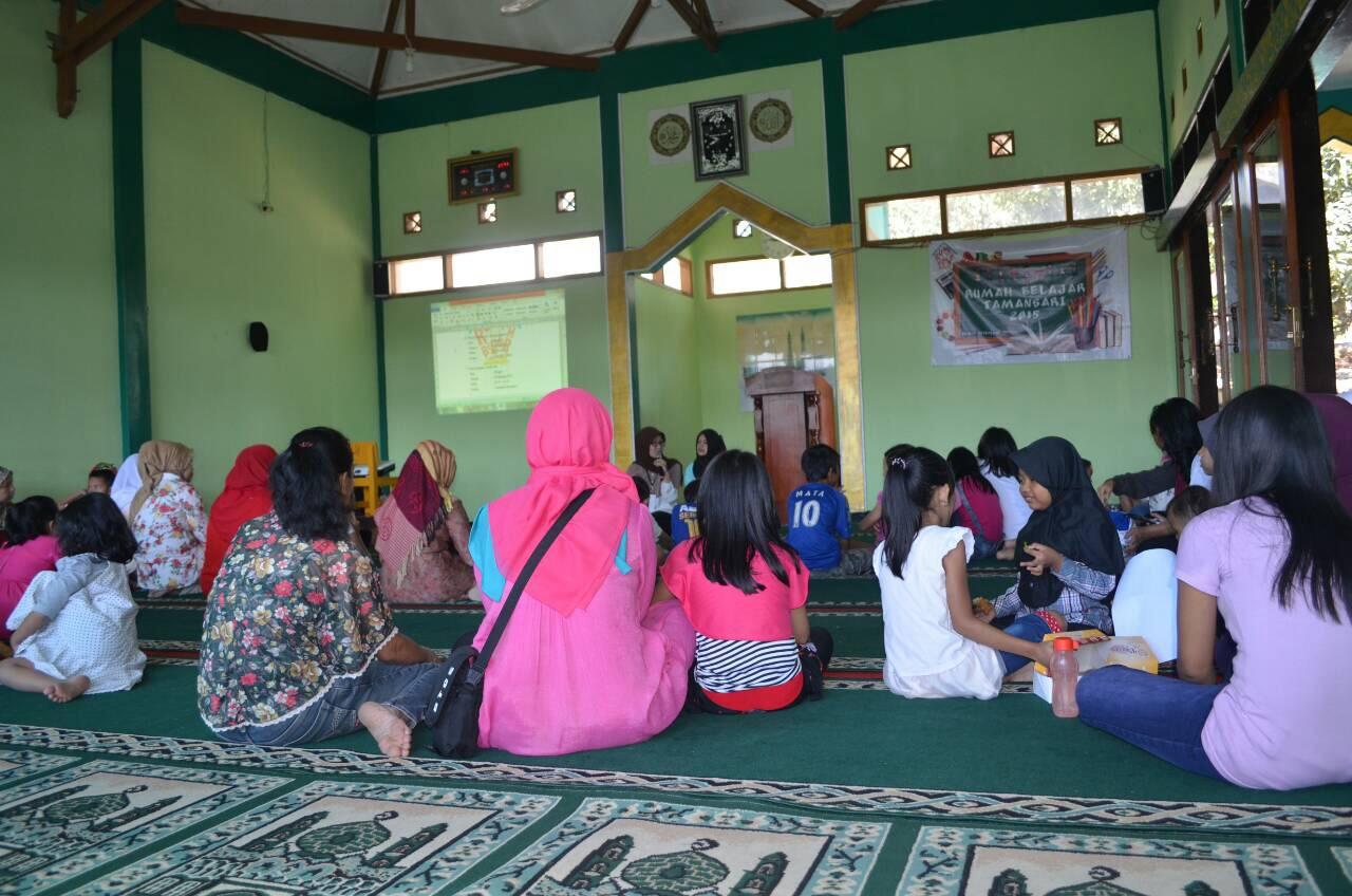 Sosialisasi Rumah Belajar Tamansari (RBT)