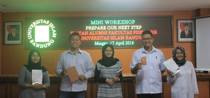 "Mini Workshop ""Prepare Our Next Step"""