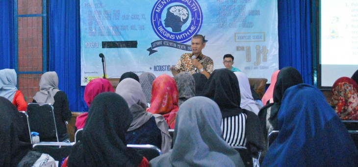 "Seminar Kesehatan Mental ""Mental Health Begin With Me"""
